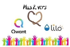 Qwant et Lilo soutiennent Plus 2 Vers et Les Boîtes Vertes